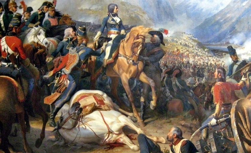 napoleon in battle - a poster child of ENTJ